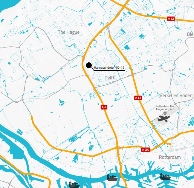 Den Hoorn map