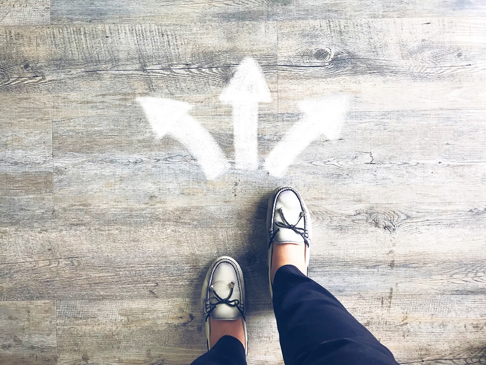choose a direction