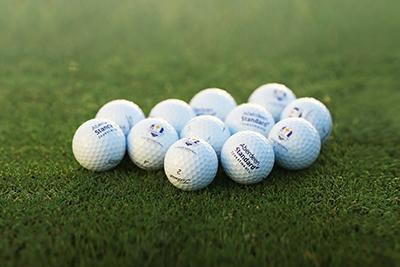 Ryder Cup golf balls