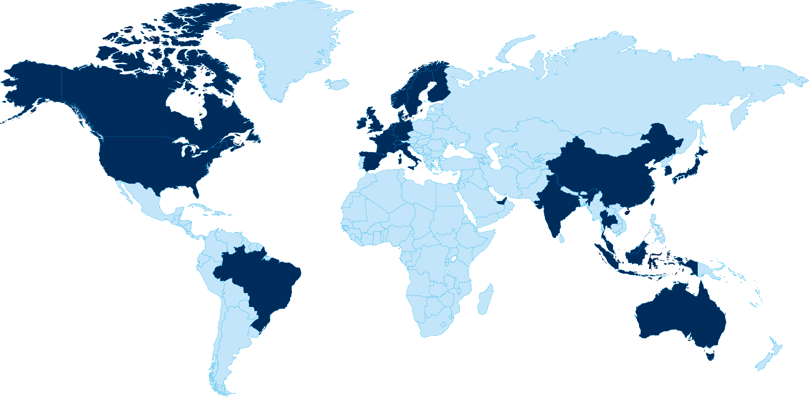 world map global locations