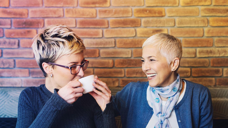 Ladies coffee meeting