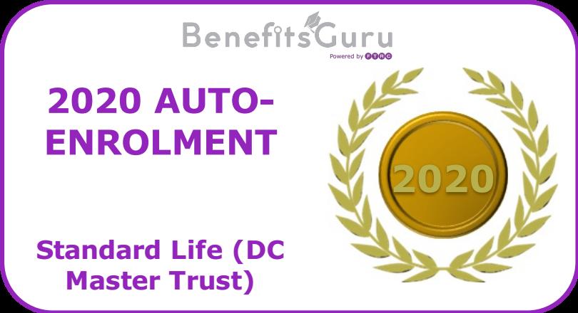 2020 Auto-enrolment award DC Master Trust