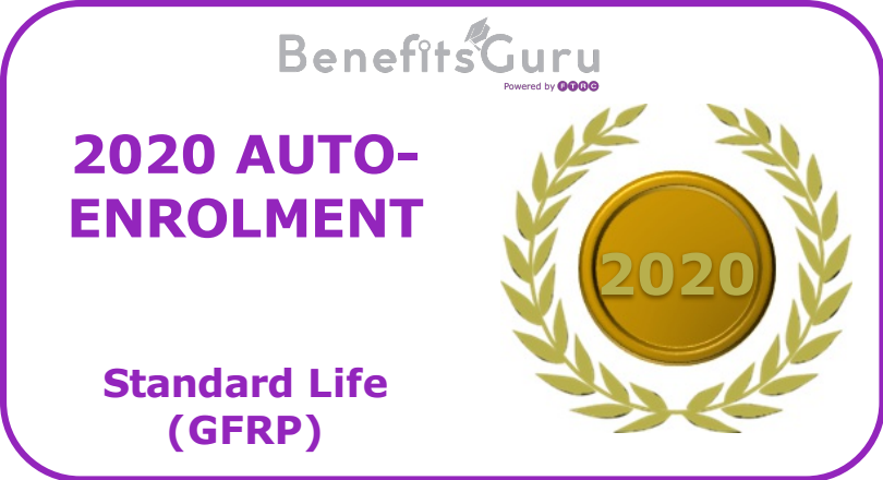 2020 Auto-enrolment award GFRP