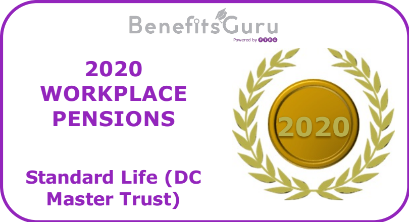2020 Workplace pensions award DC Master Trust
