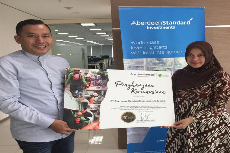 The Humanitarian Award from Dompet Dhuafa Foundation