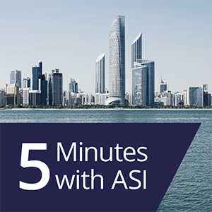 5 minutes with ASI