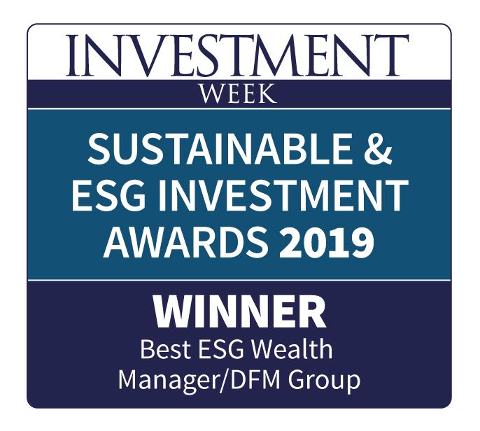 Investment week award winner